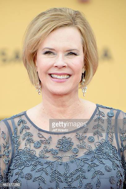 President of the Screen Actor's Guild Foundation JoBeth Williams attends the 21st Annual Screen Actors Guild Awards at The Shrine Auditorium on...