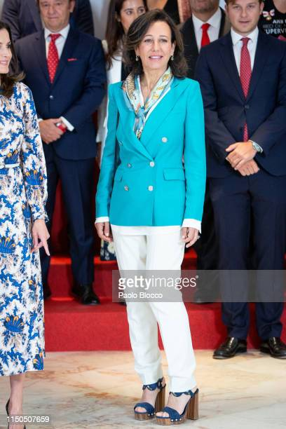 President of the Spanish bank Banco Santander Ana Patricia Botin attends 'Proyectos Sociales De Banco Santander' awards on May 20 2019 in Madrid Spain