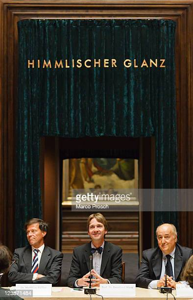 President of the State Parliament of Saxony Matthias Roessler, Director of the Dresden State Art Collections Bernhard Maaz, Ambassador Extraordinary...