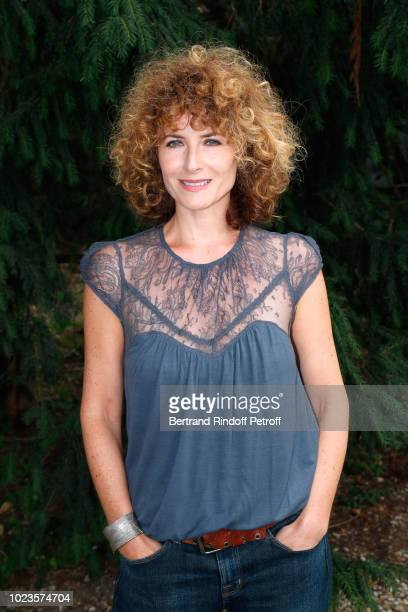 President of the Student Jury actress Elsa Lunghini attends the 11th Angouleme FrenchSpeaking Film Festival Day Five on August 25 2018 in Angouleme...
