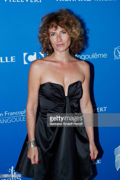 President of the Student Jury actress Elsa Lunghini attends the Closing Ceremony of the 11th Angouleme FrenchSpeaking Film Festival on August 26 2018...