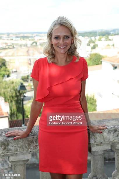 President of the Student Jury Claire Borotra attends the 12th Angouleme FrenchSpeaking Film Festival Day One on August 20 2019 in Angouleme France