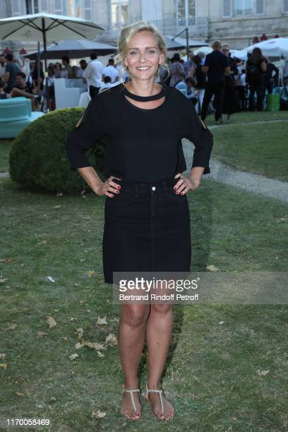 President of the Student Jury Claire Borotra attends the 12th Angouleme FrenchSpeaking Film Festival Day Five on August 24 2019 in Angouleme France
