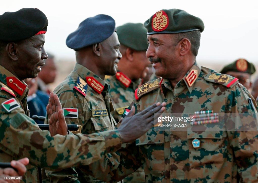 SUDAN-ARMY-DRILL : News Photo