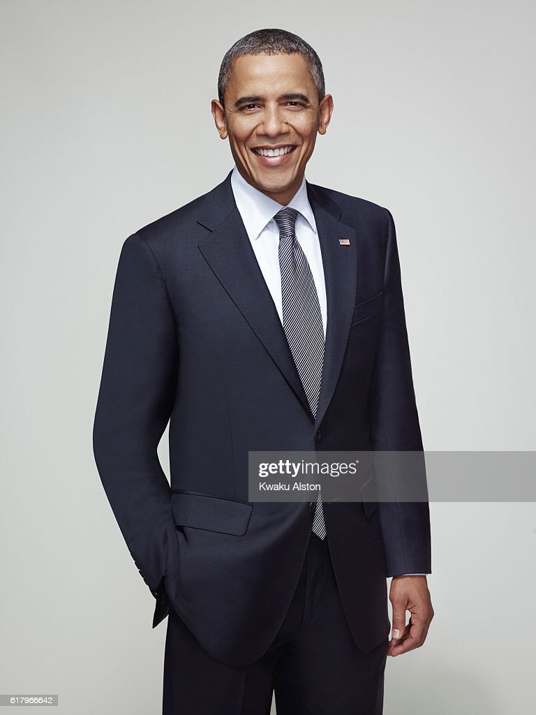 President of the United States, Barack Obama is photographed for Essence Magazine on April 24, 2012 in Washington, DC.