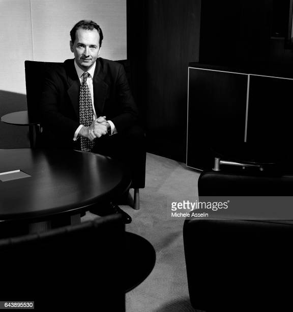 President of the US Private Client Group at Merrill Lynch James P Gorman is photographed on September 6 2002 in New York City