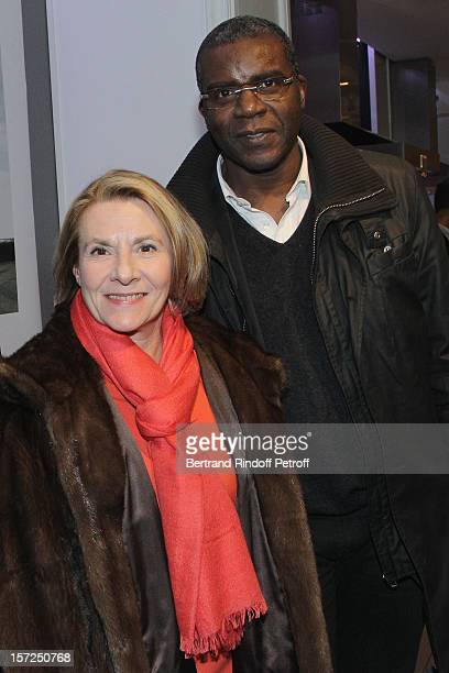 President of the Versailles Castle, Catherine Pegard , and President of the Public Institution of La Villette Park and Grande Halle of La Villette,...