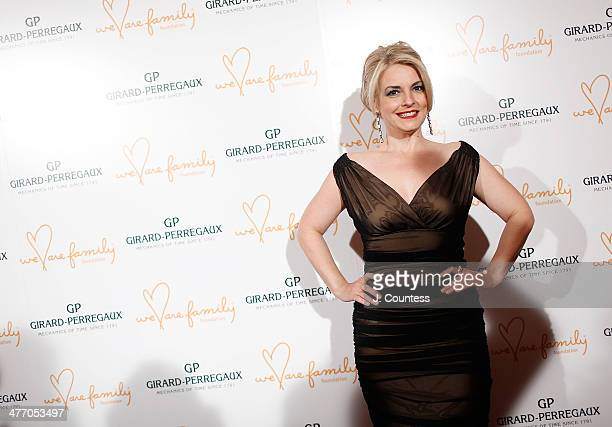President of the We Are Family Foundation Nancy Hunt attends the We Are Family Foundation 2014 Gala at Hammerstein Ballroom on March 6 2014 in New...