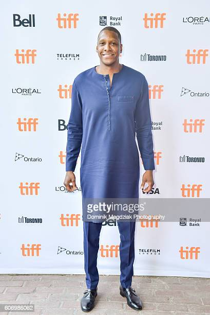 President of Toronto Raptors Masai Ujiri attends the 'Giants of Africa' premiere during the 2016 Toronto International Film Festival at Ryerson...