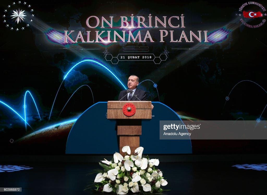 President of Turkey Recep Tayyip Erdogan : News Photo