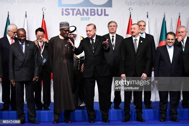 President of Turkey Recep Tayyip Erdogan President of Azerbaijan Ilham Aliyev Secretary General of D8 Seyyid Ali Muhammed President of Nigeria...