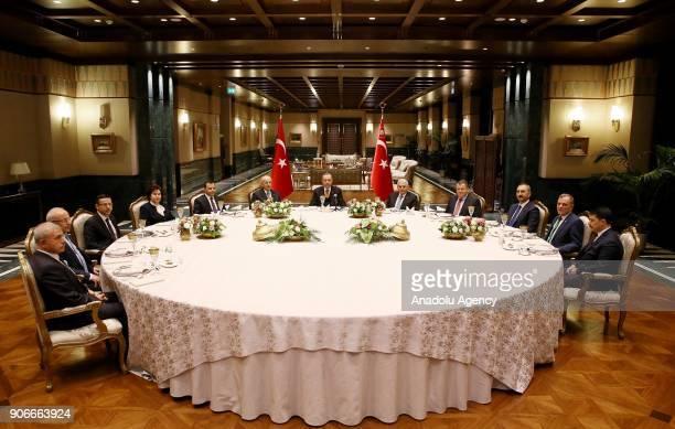 President of Turkey Recep Tayyip Erdogan Prime Minister of Turkey Binali Yildirim Speaker of the Grand National Assembly of Turkey Ismail Kahraman...