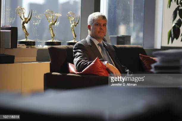 President of Turner Broadcasting System Inc Sales Distributing and Sports David Levy is photographed for the Los Angeles Times PUBLISHED IMAGE