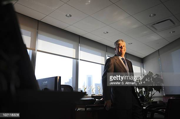 President of Turner Broadcasting System Inc Sales Distributing and Sports David Levy is photographed for the Los Angeles Times