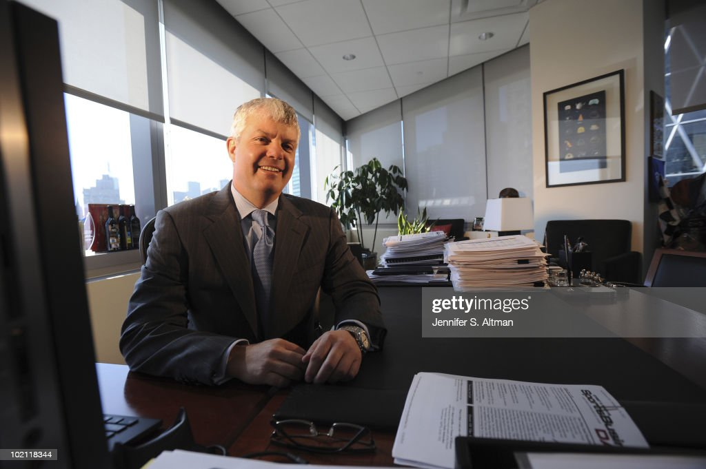 President of Turner Broadcasting System, Inc. Sales, Distributing and Sports David Levy is photographed for the Los Angeles Times.