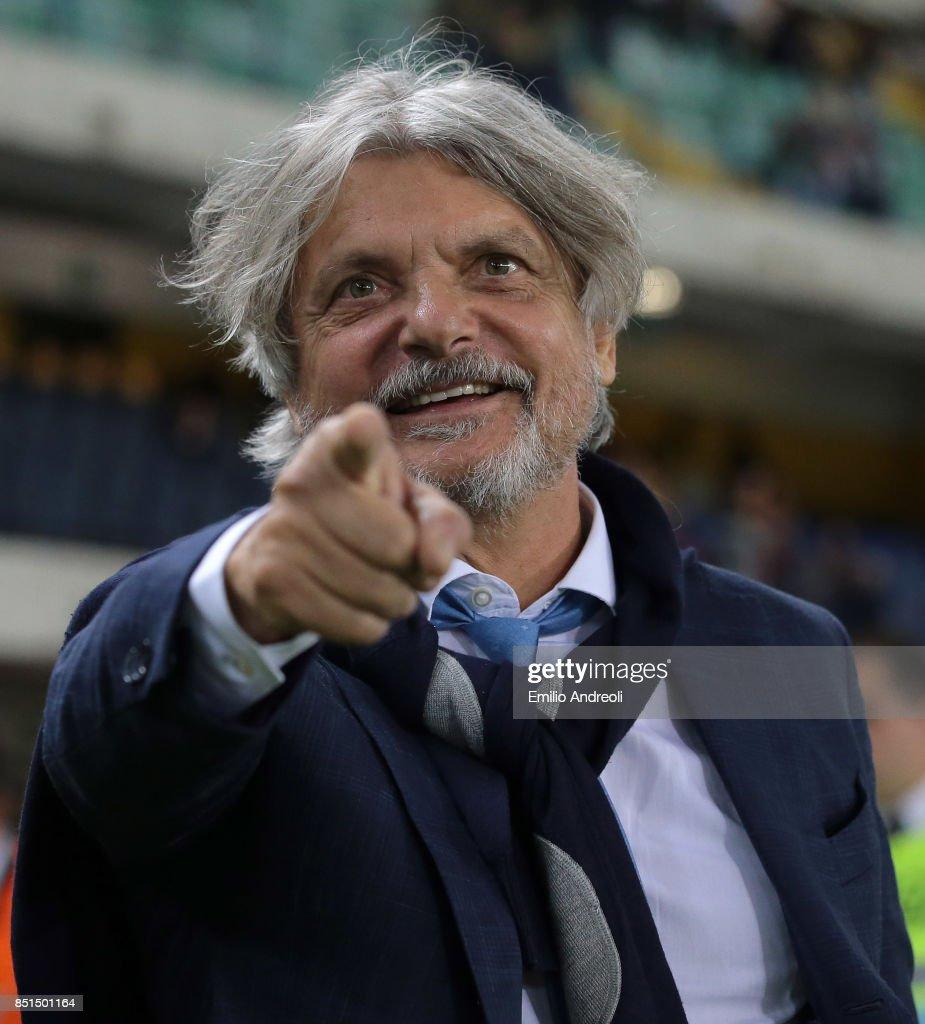 Hellas Verona FC v UC Sampdoria - Serie A
