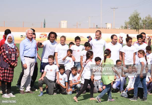 President of UEFA Aleksander Ceferin West Asian Football Federation President and Jordan Football Federation President Prince Ali bin alHussein and...