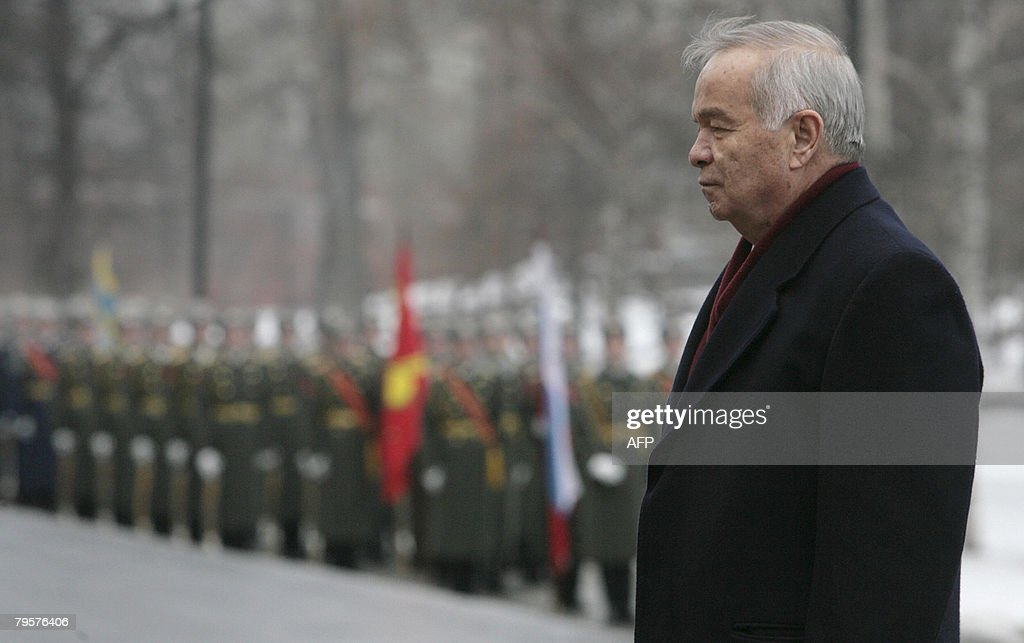 President of Uzbekistan Islam Karimov la : News Photo