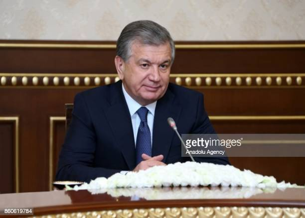 President of Uzbekistan Shavkat Mirziyoyev meets with UN Human Rights Council's The Special Rapporteur on freedom of religion or belief Ahmed Shaheed...