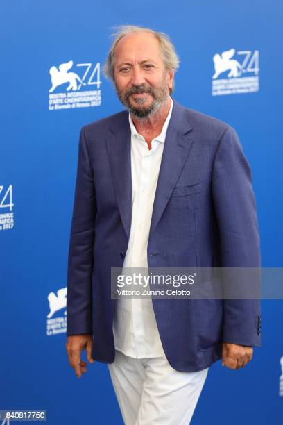 President of 'Venezia Classici' Giuseppe Piccioni attends the Jury photocall during the 74th Venice Film Festival on August 30, 2017 in Venice, Italy.