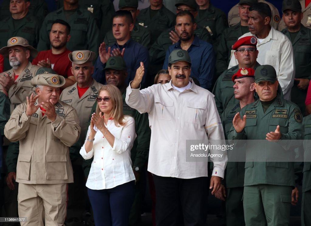 President of Venezuela Nicolas Maduro : News Photo
