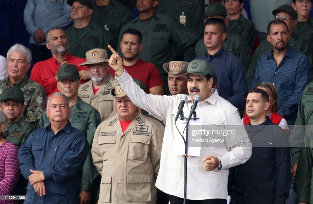 President of Venezuela Nicolas Maduro : Nachrichtenfoto