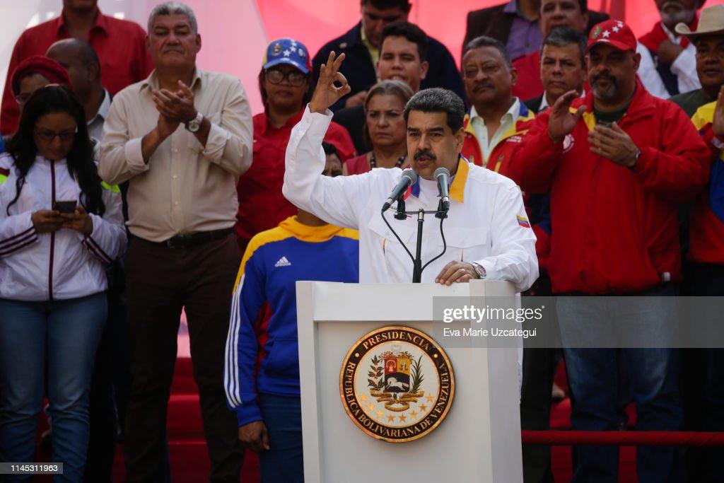 VEN: Nicolás Maduro Celebrates His Election Anniversary