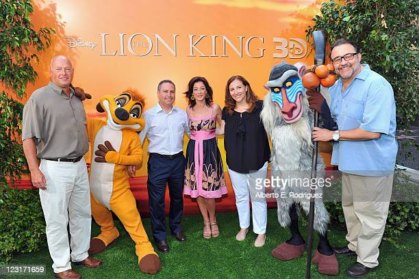 President of Walt Disney Studios Distribution Bob Chapek President of Walt Disney Studios Alan Bergman actress Moira Kelly Walt Disney Studios...