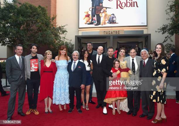 President of Walt Disney Studios Motion Picture Production Sean Bailey screenwriters Alex Ross Perry Allison Schroeder producer Kristin Burr actor...