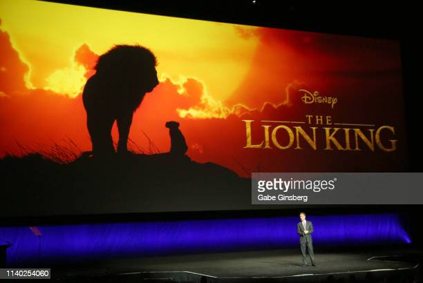 President of Walt Disney Studios Motion Picture Production Sean Bailey talks about the upcoming live action Disney movie The Lion King during Walt...