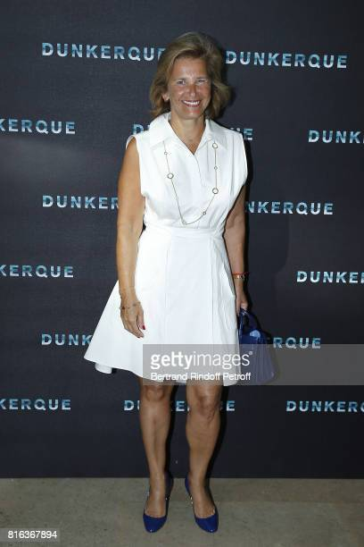 President of Warner Bros France Iris Knobloch attends 'Dunkirk' photocall at Cinematheque Francaise on July 17 2017 in Paris France