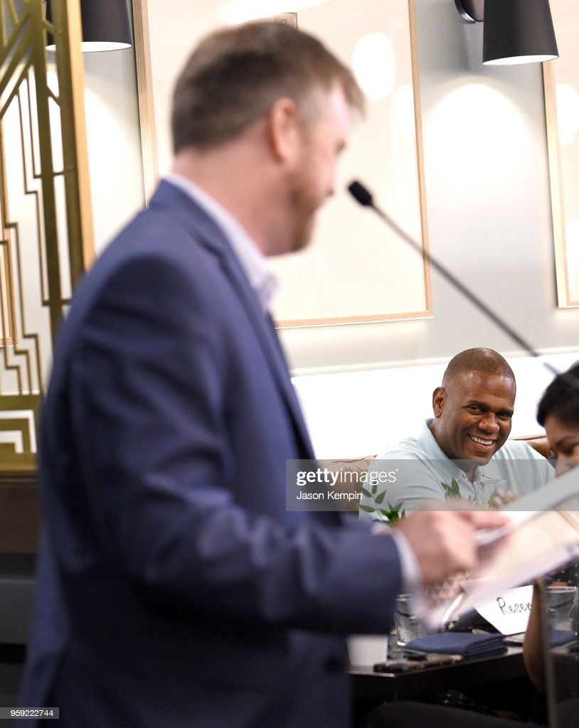 President of Warner/Chappell Nashville Ben Vaughn and CEO/Chairman of Warner Chappell Music Jon Platt attend the City Of Hope's 2018 Spirit Of Life Breakfast Kickoff Honoring Jon Platt, Chairman & CEO of Warner/Chappell Music on May 16, 2018 in Nashville, Tennessee.