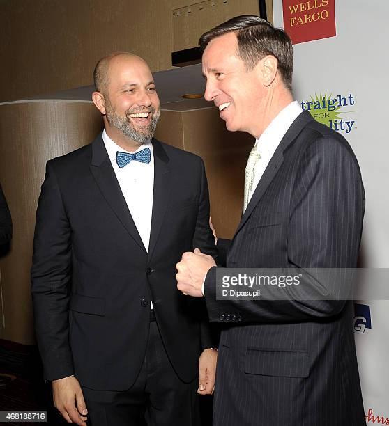 President of West Elm Jim Brett and President and CEO of Marriott International Arne Sorenson attend the 7th Annual PFLAG National Straight For...