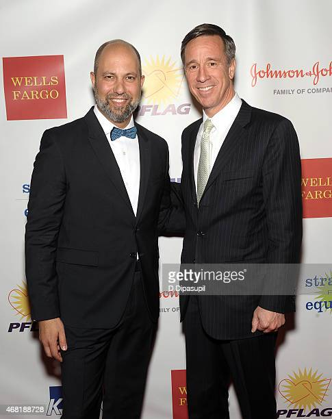 President of West Elm Jim Brett and President and CEO of Marriott International Arne Sorenson attend the 7th Annual PFLAG National Straight For...
