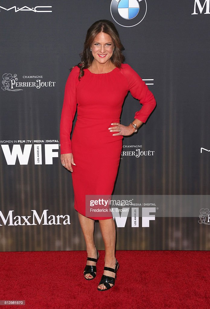 President of Women in Film Cathy Schulman attends Ninth Annual Women in Film Pre-Oscar Cocktail Party presented by Max Mara, BMW, M-A-C Cosmetics and Perrier-Jouet at HYDE Sunset: Kitchen + Cocktails on February 26, 2016 in West Hollywood, California.