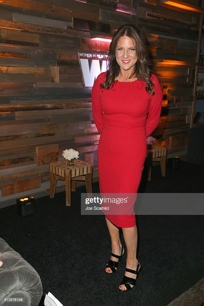 President of Women In Film LA Cathy Schulman speaks onstage during Ninth Annual Women In Film Pre-Oscar Cocktail Party presented by Max Mara, BMW, M-A-C Cosmetics and Perrier-Jouet at Hyde Sunset Kitchen + Cocktails at Hyde On Sunset on February 26, 2016 in West Hollywood, California.