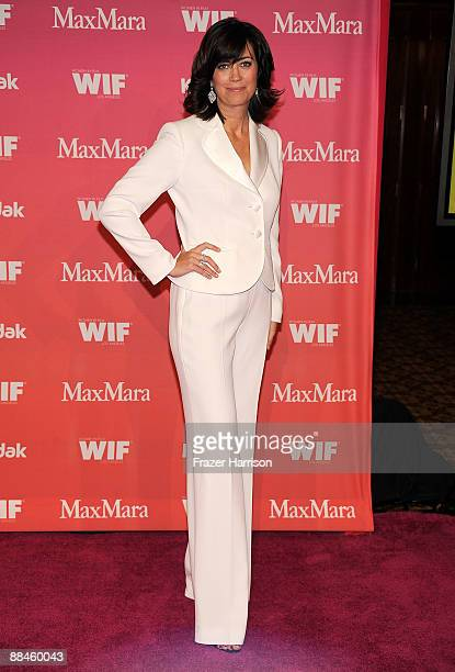 President of Women in Film Jane Fleming arrives at the Women In Film 2009 Crystal And Lucy Awards at the Hyatt Regency Century Plaza Hotel on June 12...