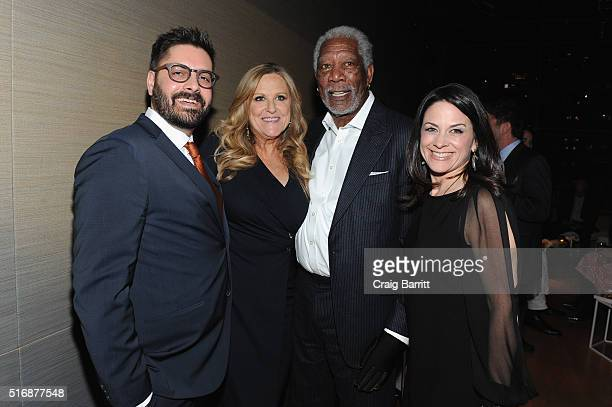 President Original Programming and Production Tim Pastore, Executive Producer Lori McCreary, Executive Producer Morgan Freeman, and CEO of NGC Global...