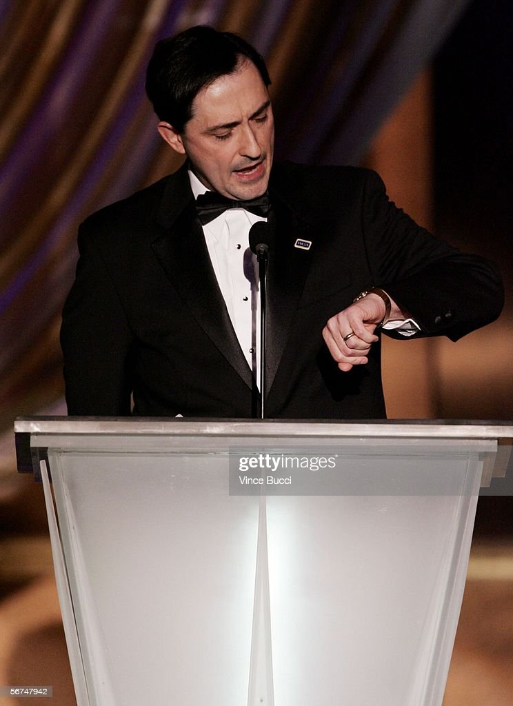 President Patric Verrone speaks onstage during the 2006 Writers Guild Awards held at The Hollywood Palladium on February 4, 2006 in Hollywood, California.