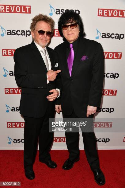 President Paul Williams and EVP/ Membership ASCAP John Titta at the ASCAP 2017 Rhythm Soul Music Awards at the Beverly Wilshire Four Seasons Hotel on...