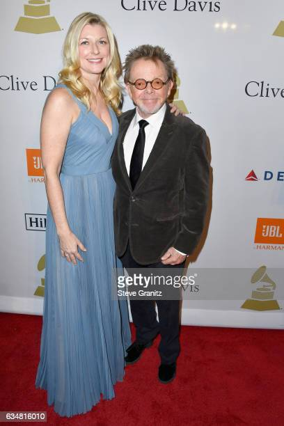 President Paul Williams and Mariana Williams attend PreGRAMMY Gala and Salute to Industry Icons Honoring Debra Lee at The Beverly Hilton on February...