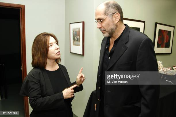 "President Paula Wallace and Guillermo Arriaga, Screen Writer ""Babel"", SCAD Achievement in Cinema Award winner"