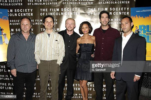 President Picture House Bob Berney Writer Michael Ian Black Actor Simon Pegg Actress Thandie Newton Director David Schwimmer and Will McCord Young...