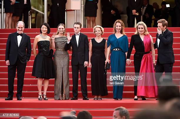 President Pierre Lescure Politician Fleur Pellerin actress Sara Forestier actor Rod Paradot pand director Emmanuelle Bercot actress Catherine...