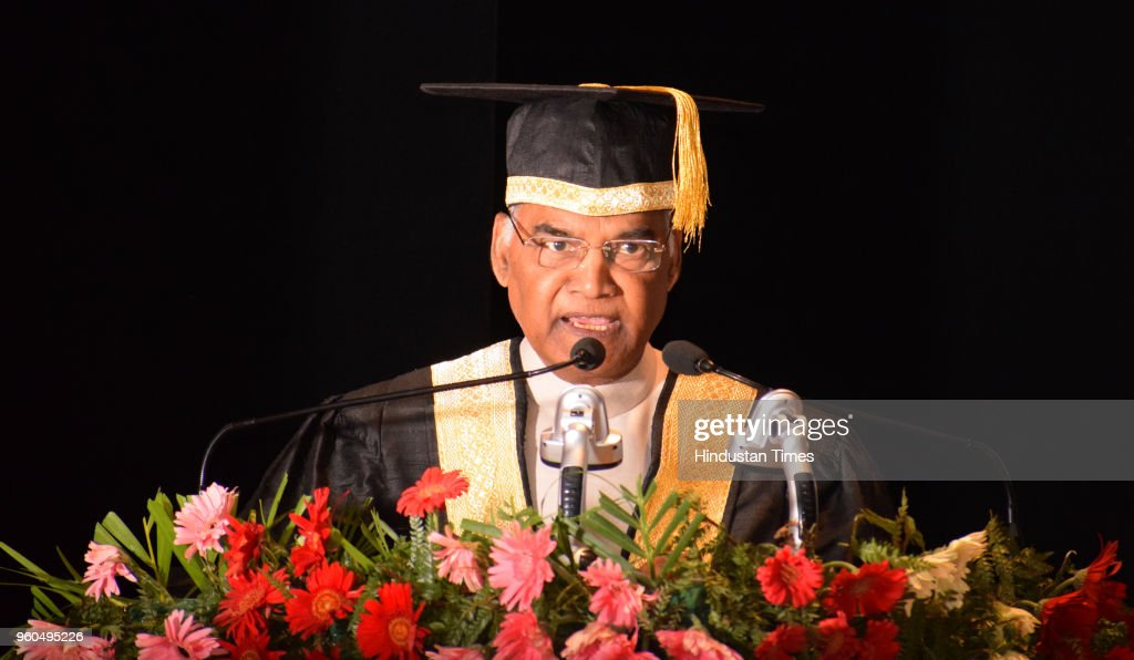 President Ram Nath Kovind Addresses 7th Convocation At IISER In Mohali