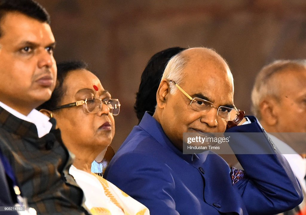 President Ram Nath Kovind Attends Gratitude Day At Global Vipassana Pagoda