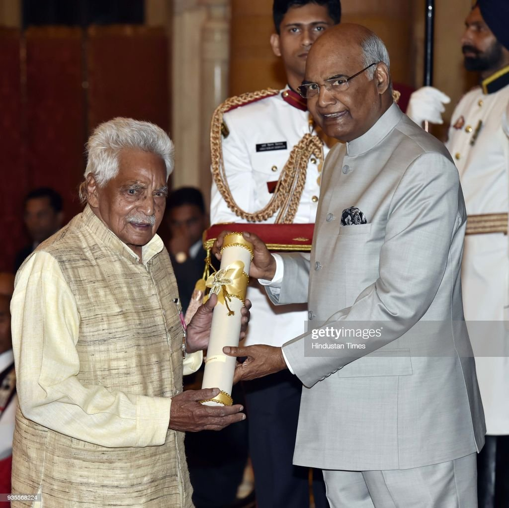 President Ram Nath Kovind Presents Padma Awards 2018 At Rashtrapati Bhavan