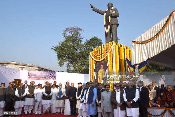 President Ram Nath Kovind Vice President M Venkaiah Naidu Prime Minister Narendra Modi former prime minister Manmohan singh and Congress Leader...
