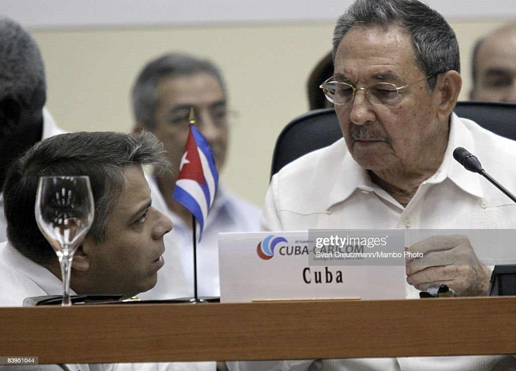 Cuba Hosts Caricom Summit Meeting : News Photo