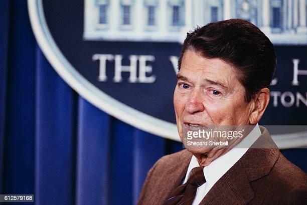 President Reagan in Press Conference